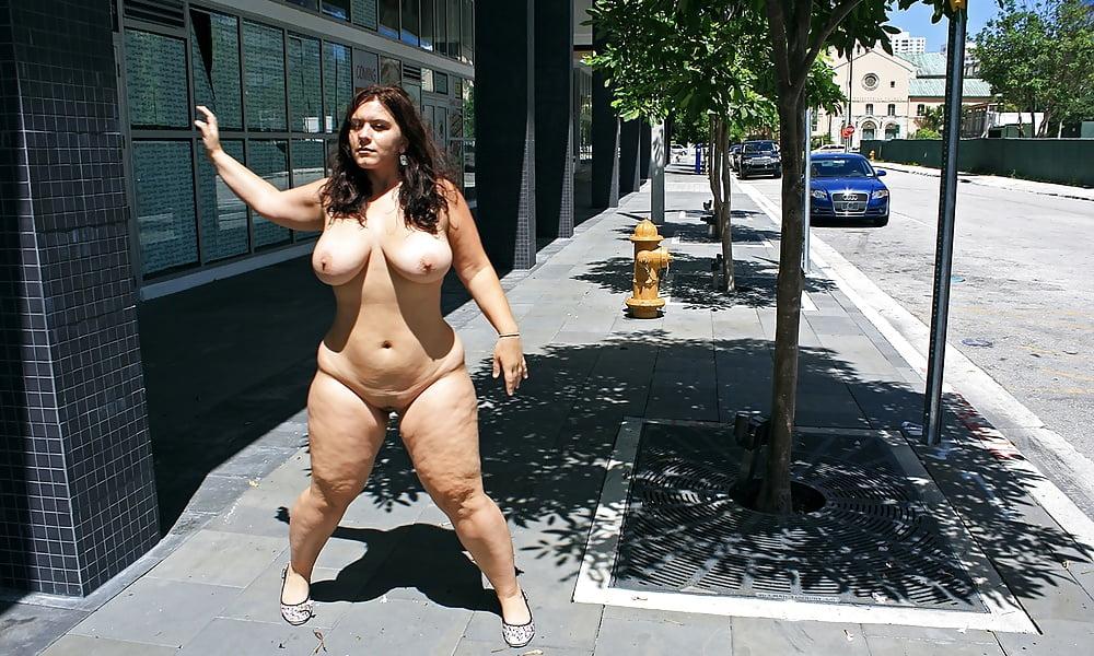 Bbw amateurs public nudity fat girlfriends voyerism