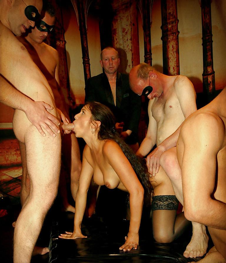 Blonde Wife Swingers Club