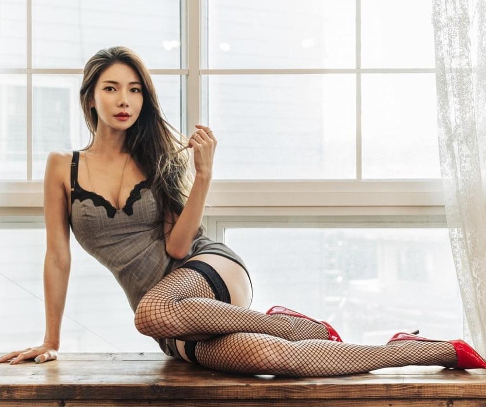 Hot sexy korean model-7553