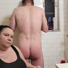After Shower Spanking