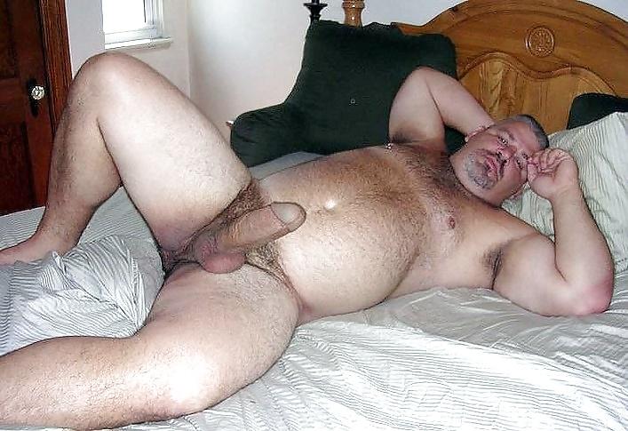 Секс толстый волосатый мужик