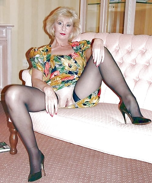 In stockings matures Stockings