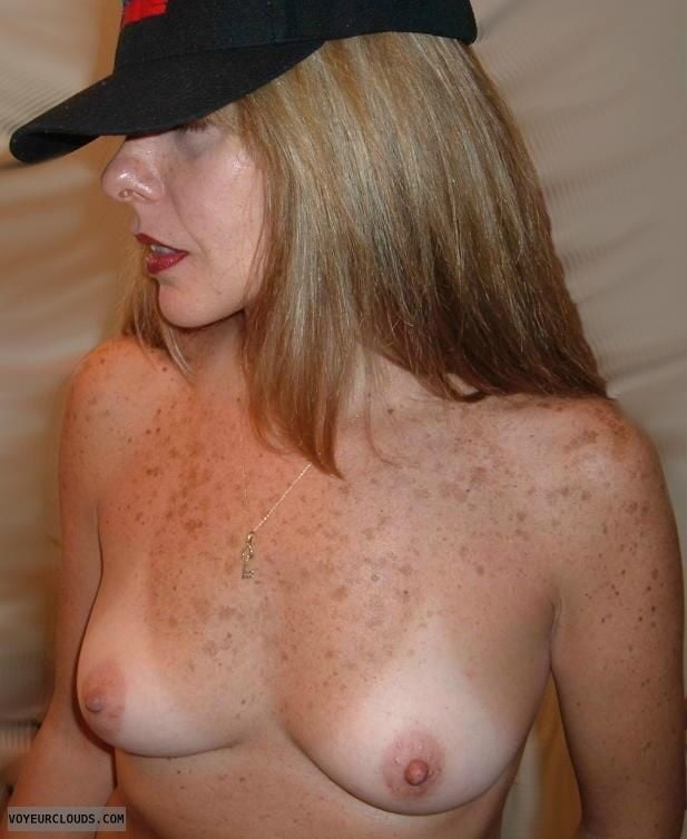 Women With There Freckles On The Chest Tits And Cleavage Fetish Porn Pic