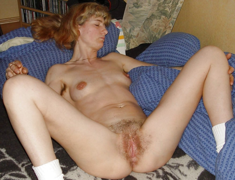 Blonde wife hairy pussy fucking #9
