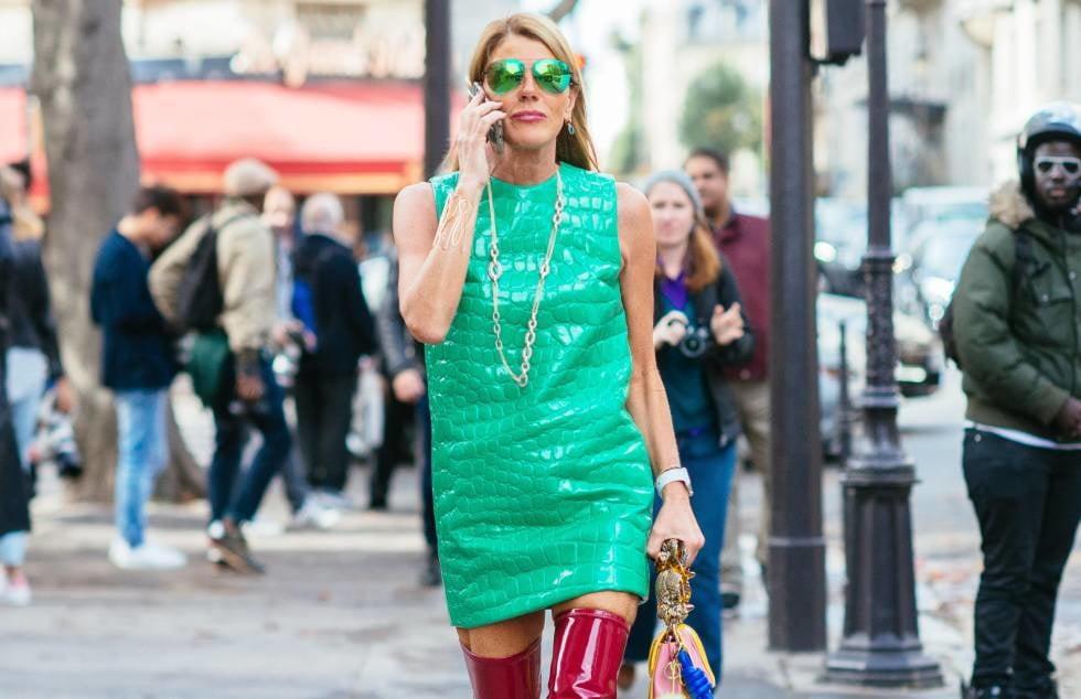 Female Celebrity Boots & Leather - Anna Dello Russo - 32 Pics