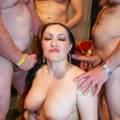 Erotic See and Save As cumming all over her slutty body at groupbanged          porn pict sex album thumbnail