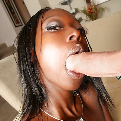 Ebony tits white dick-1045
