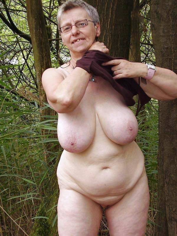 Grannies naked in public