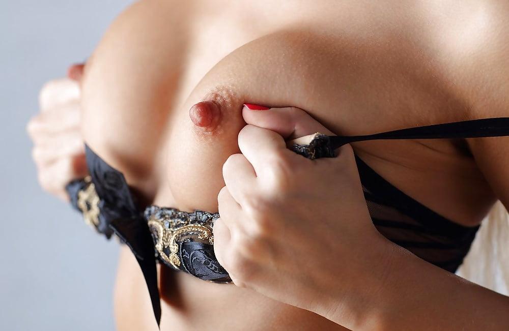 Black bra erotic lingerie open nipple sexy naughty nipple free