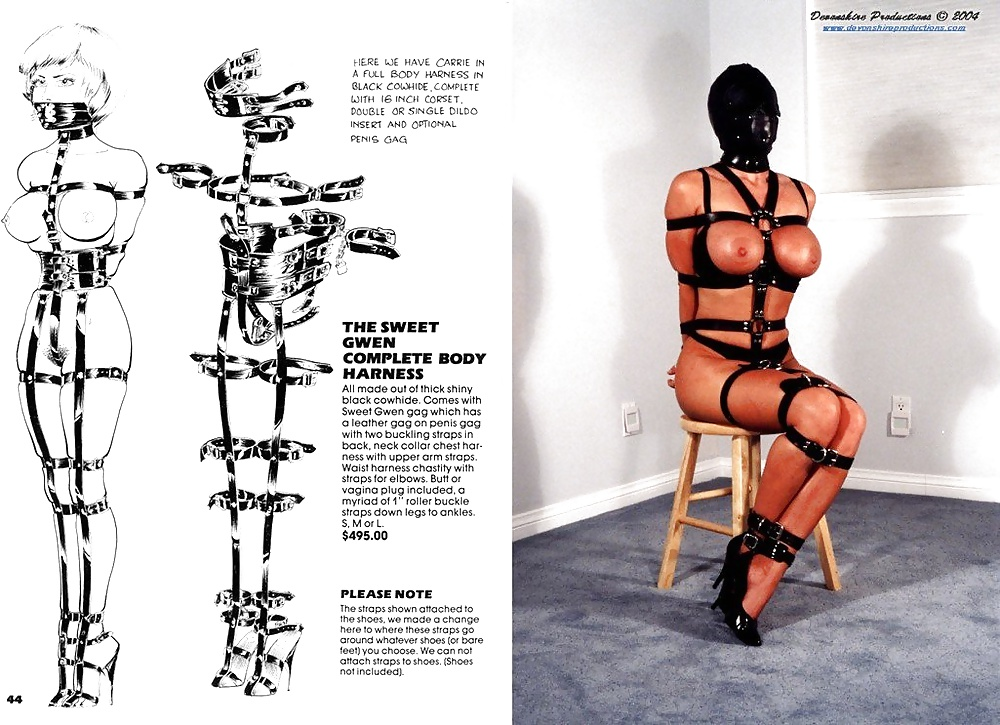 Body art bondage