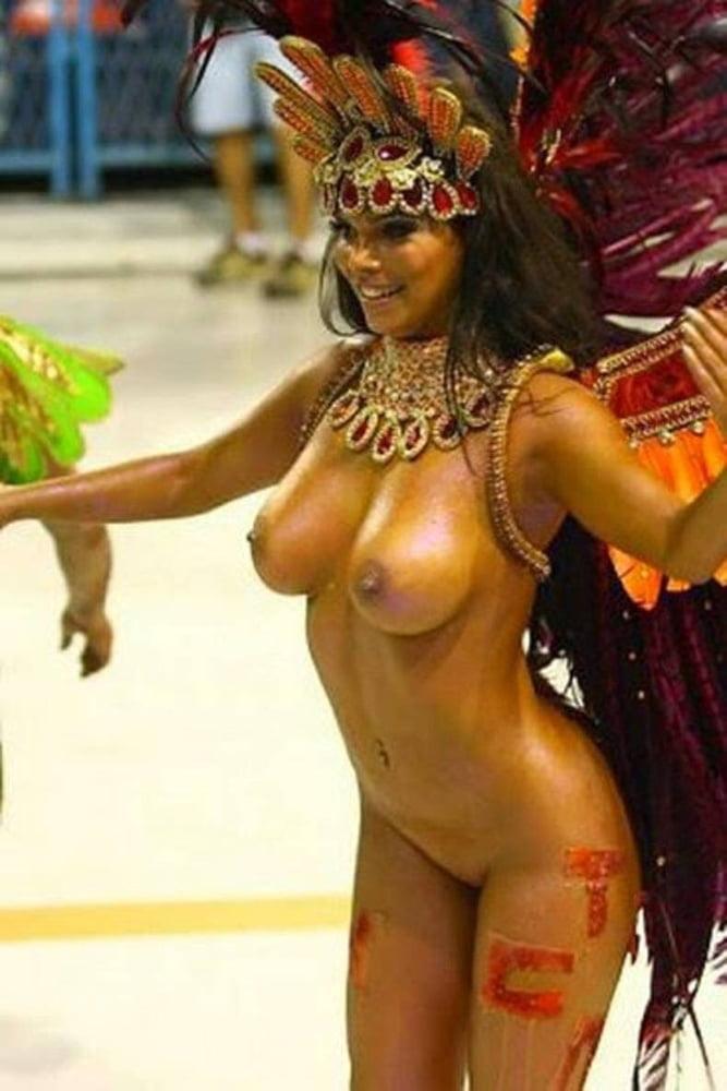 Brazil's nude carnival models