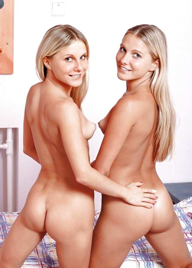 Hot Nude Blondes Twins