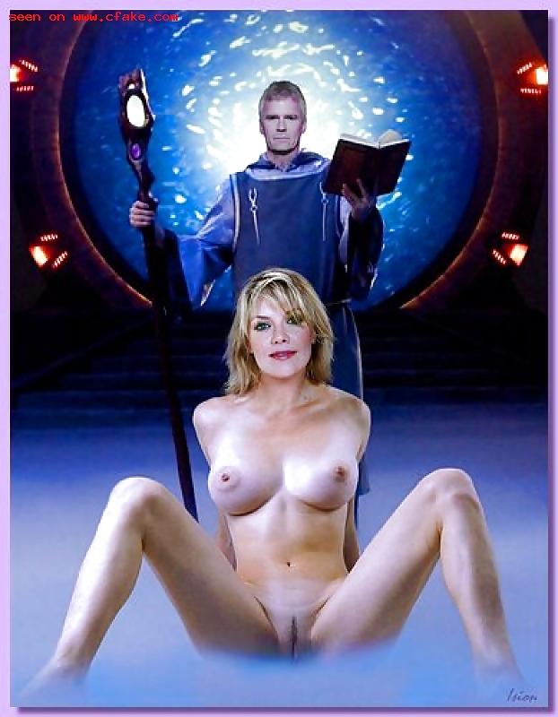 Porn Stargate Amanda Tapping Nude Sex