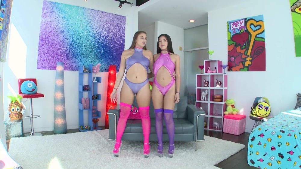 Gia Derza and Kendra Spade Give Him Head Together - 110 Pics