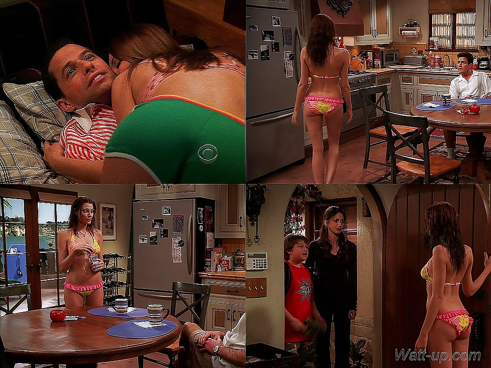 Girls nude in two and a half men