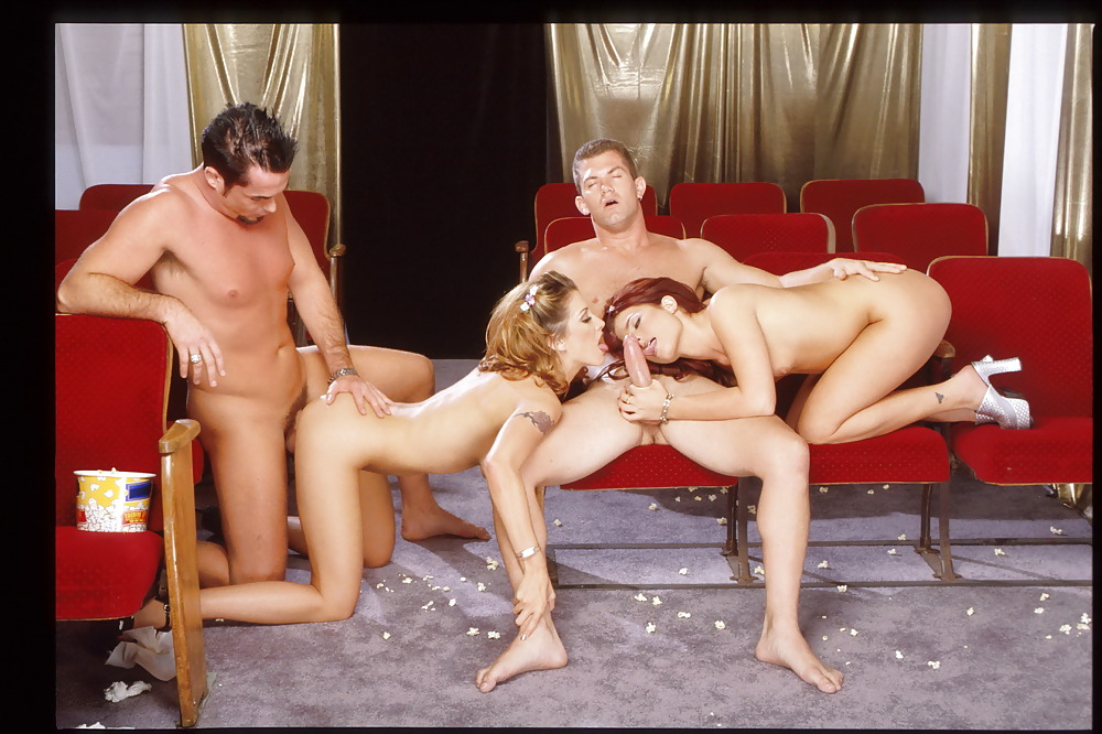 Live theatre group sex