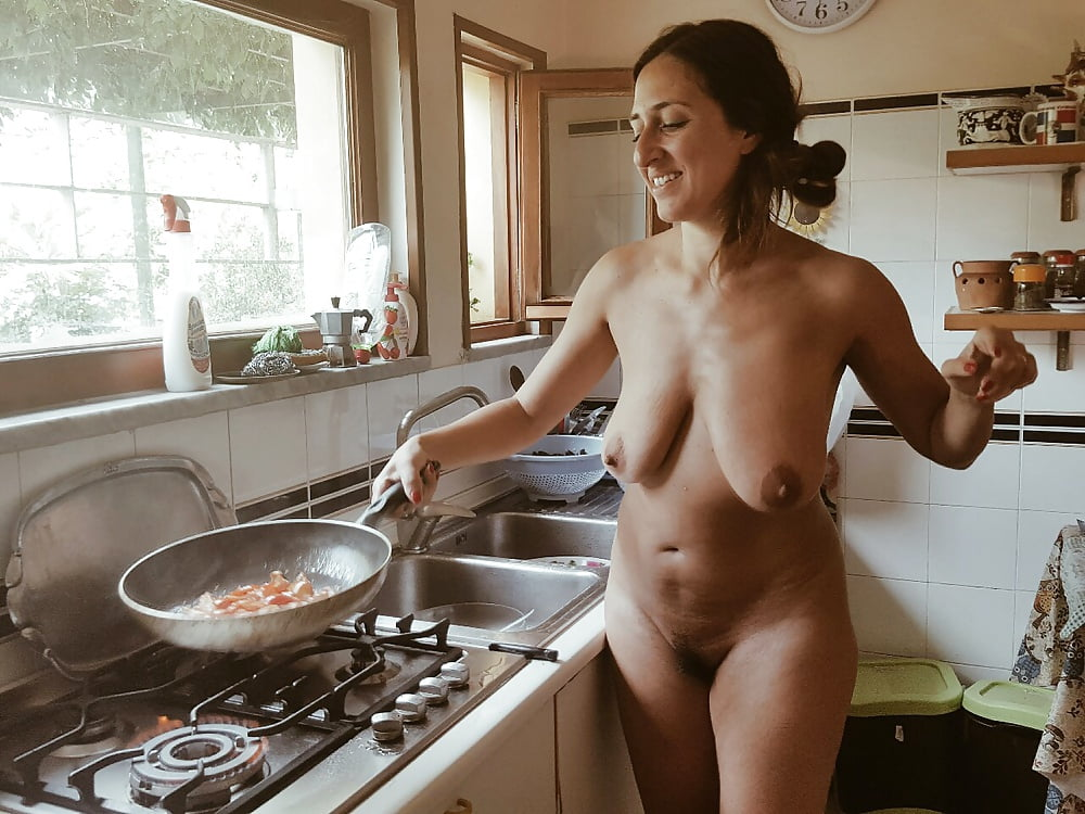 Women cooking in nude, villa orgy slutload