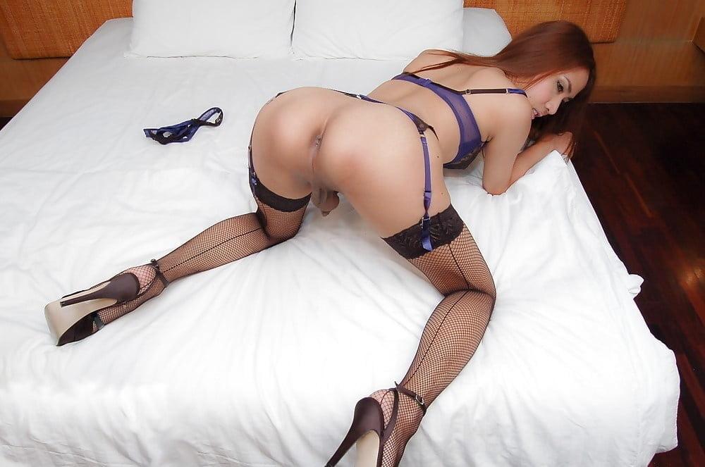 Thai ladyboy bondage