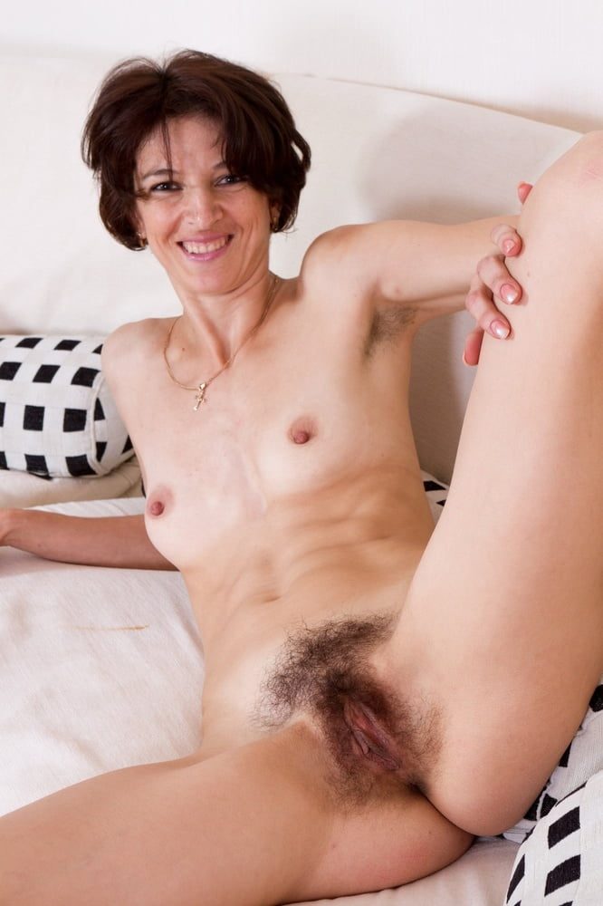 Older women with pubic hair nude — 13