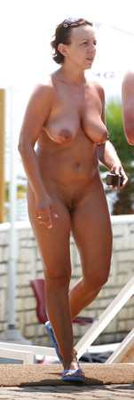 Outdoor naked 1 (Older women special)