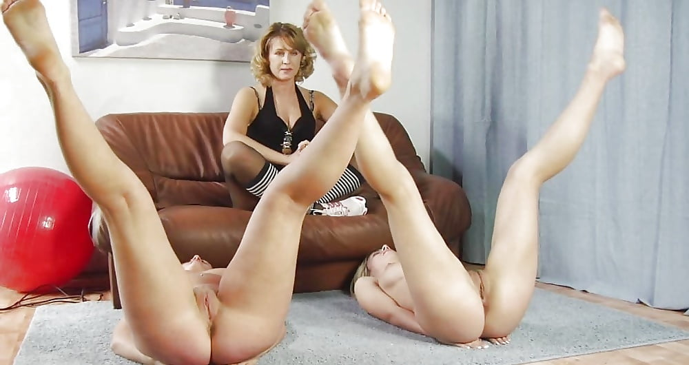 Flexible Teen Adel Receives A Good Anal Stretching