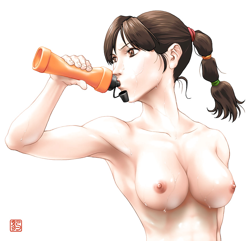 Sexy anime girls boobs-2133