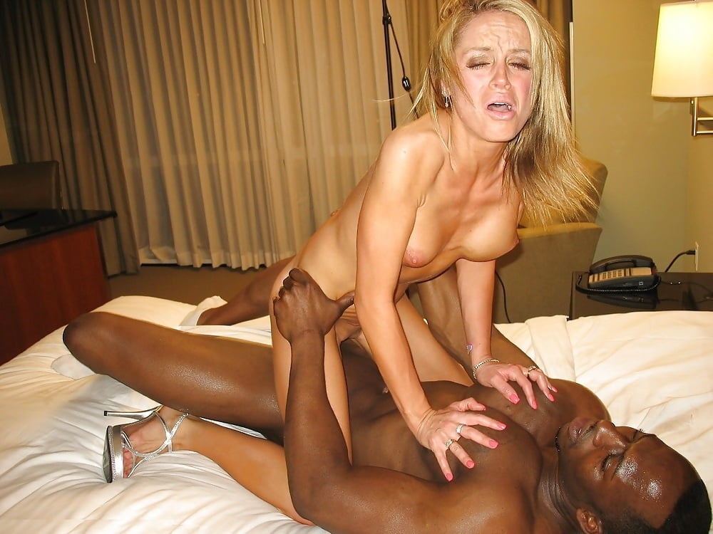 Black man fucking blonde