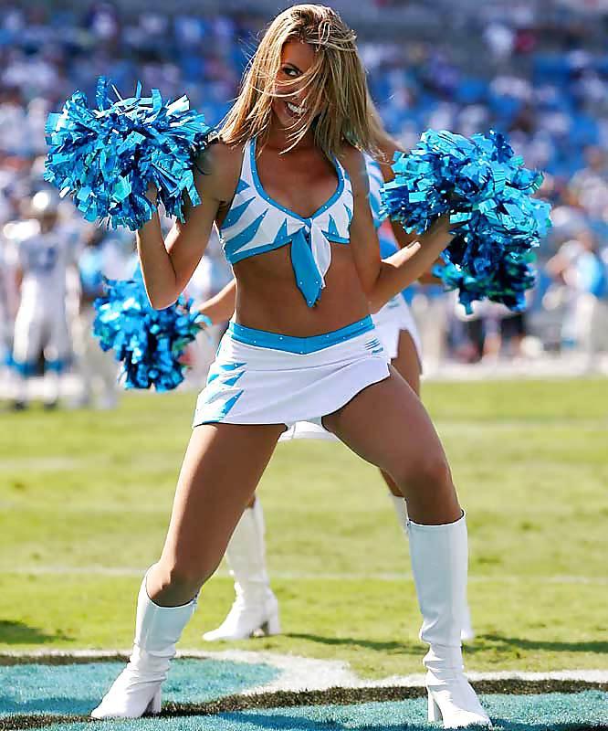 Panthers cheerleaders nude