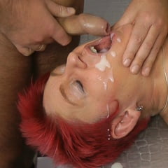 Annadevot: Mouth Wide Open, Cum Into Mouth