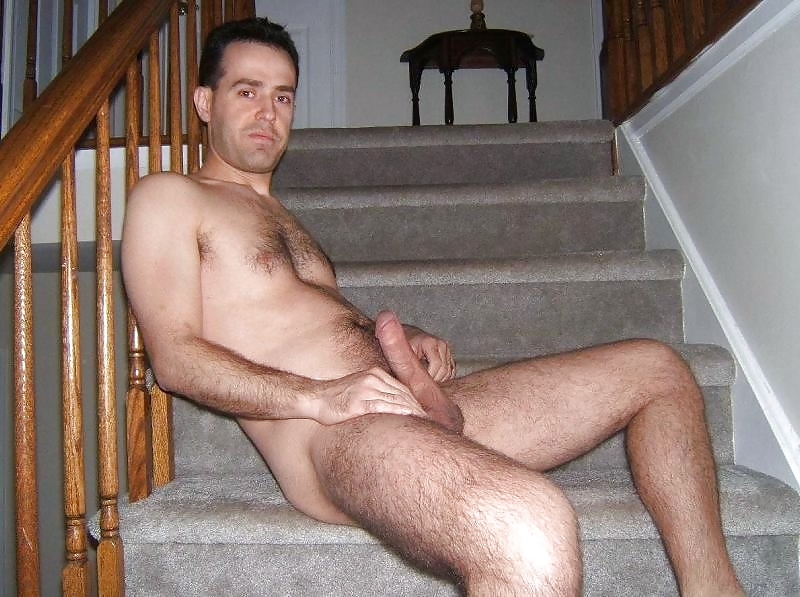 Elegant Naked Daddy Is Taking Shower In A Hot Way