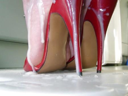 Cum high heels Whores tube