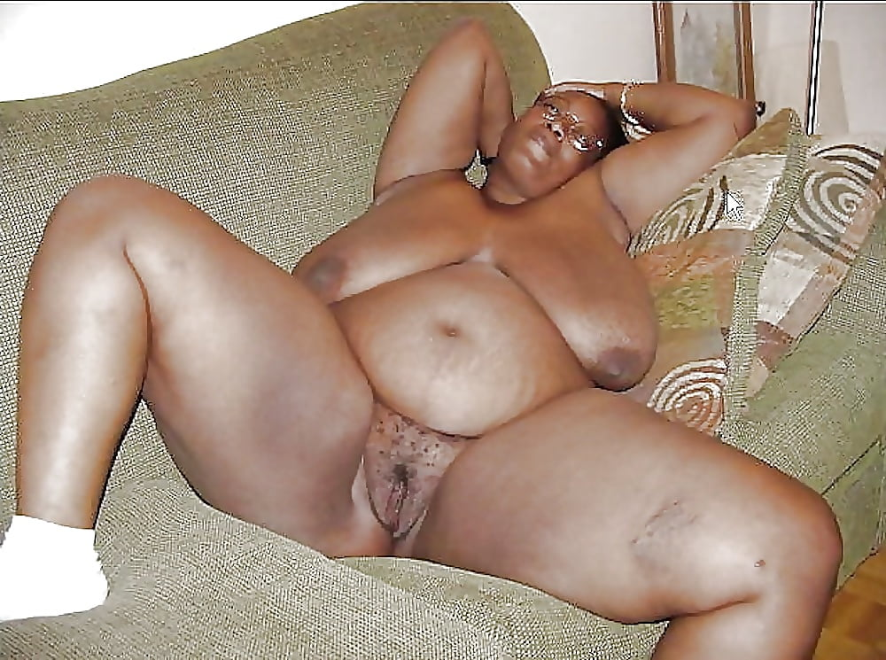 Ebony Bbw Spread Pussy Lips