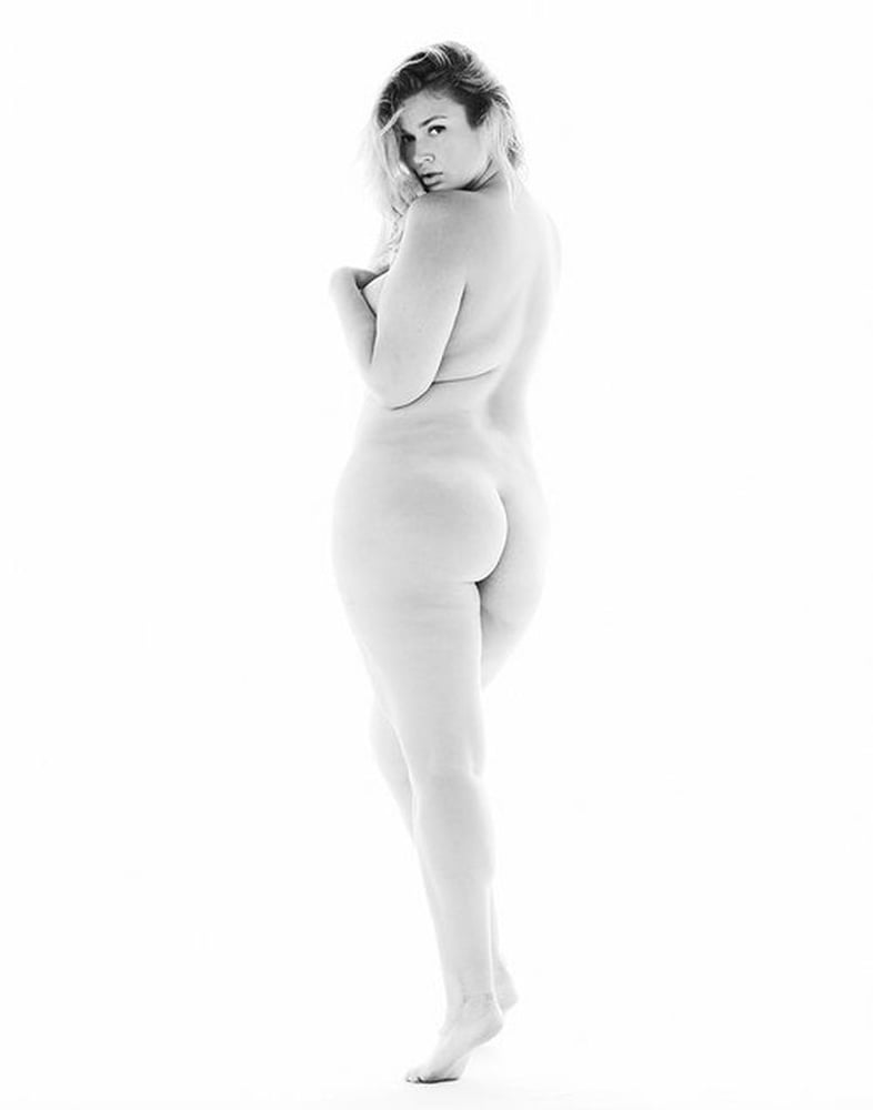 Babes black and white plus size model nudes
