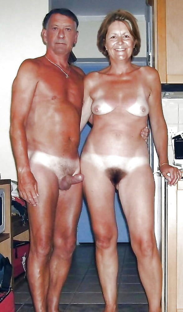 Older couple naked