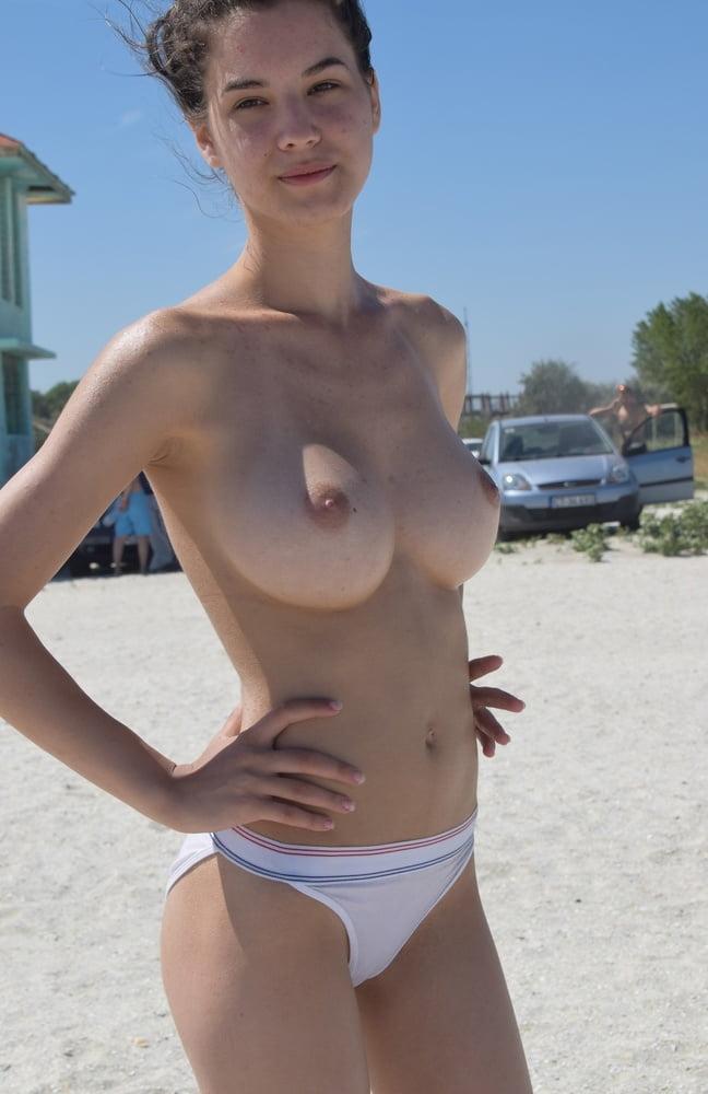 Beach tits Big Tits