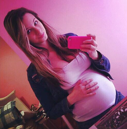crazy milk games with extreme pregnant teen