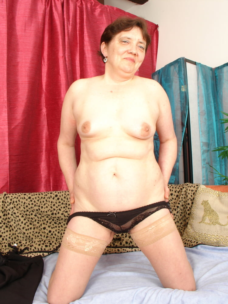 Ugly 73yr old Grandma Gundula Rough Fuck by Step Grand Son - 42 Pics