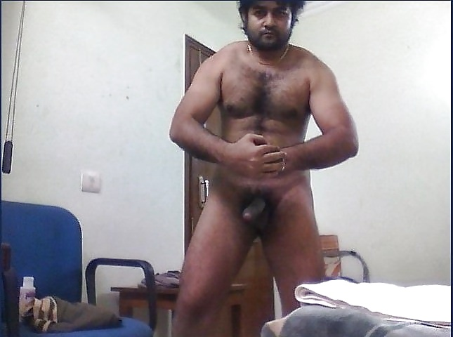 Sexy Naked Pics Of A Hairy And Fit Desi Hunk
