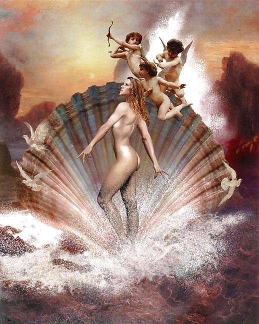 Greek goddess of beauty having sex — pic 4
