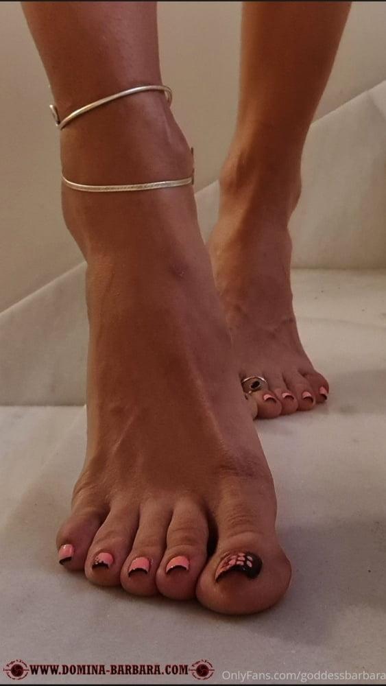 Mistress Barbara Feet - 13 Pics