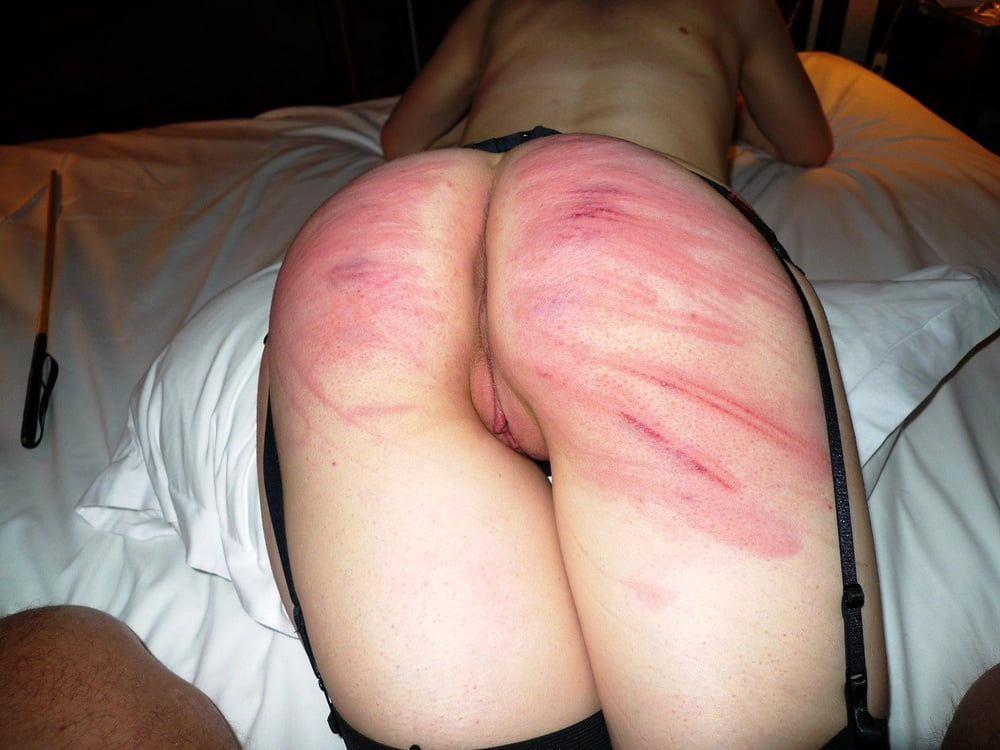 College caned black ass