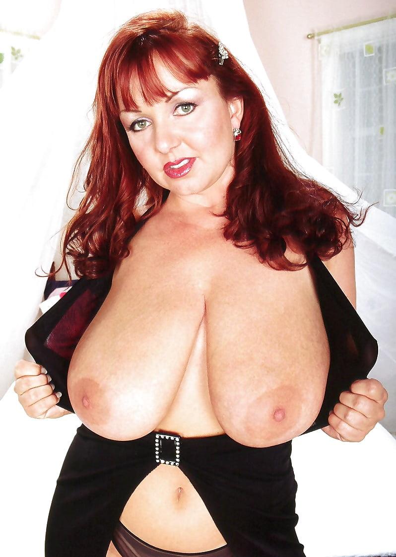Redhead big boobs nude-5428