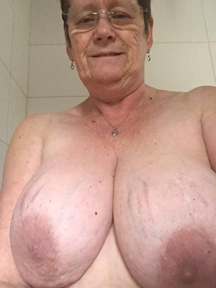 Grandma With Big Tits