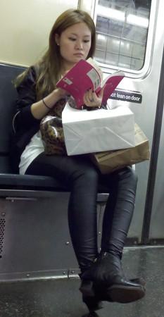 New York Subway Girls 67