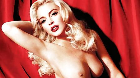 Best Lindsay Lohan Marilyn Monroe Nude Pic