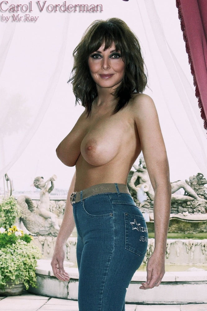 Nackt  Carol Vorderman Yahoo is