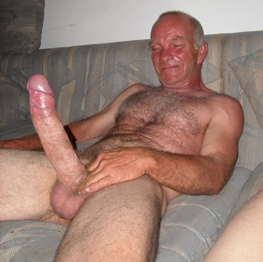Grandpa plays with my penis
