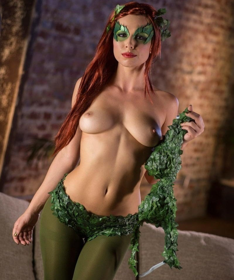 Sexy Poison Ivy The Costume Kitty