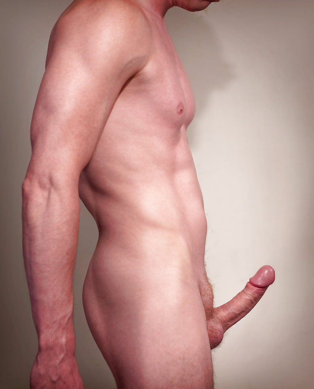 Nude men with average penis size