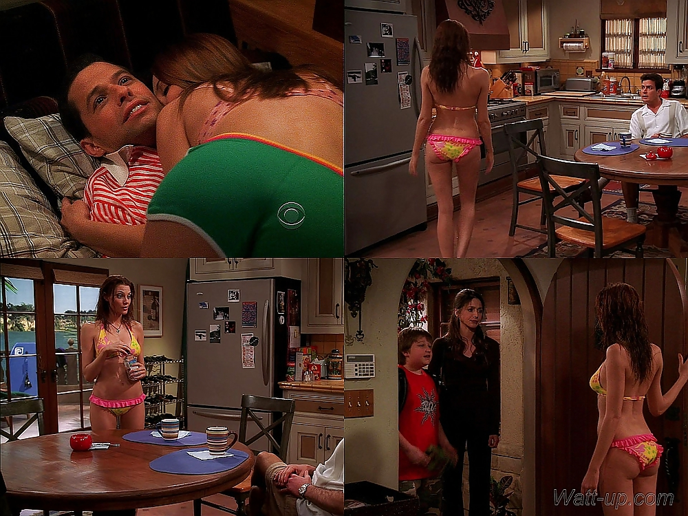 Candy from two and half men porn #8